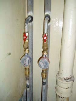 Замена стояков горячей и холодной воды в Мурманске, монтаж стояков водоснабжения